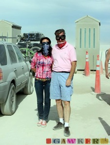 Google's Eric Schmidt at Burning Man 2007