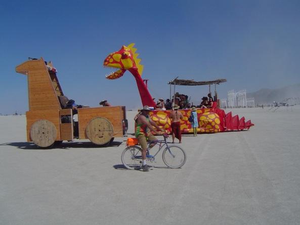 art cars dragon
