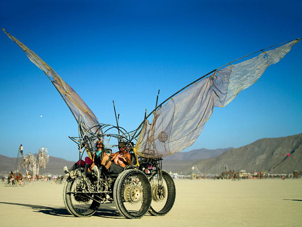 Burning Man In Popular Mechanics 10 Cool Art Cars