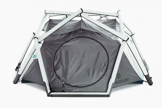 The Inflatable ... & The Cave: Inflatable Tent from Germany | Burners.Me: Me Burners ...