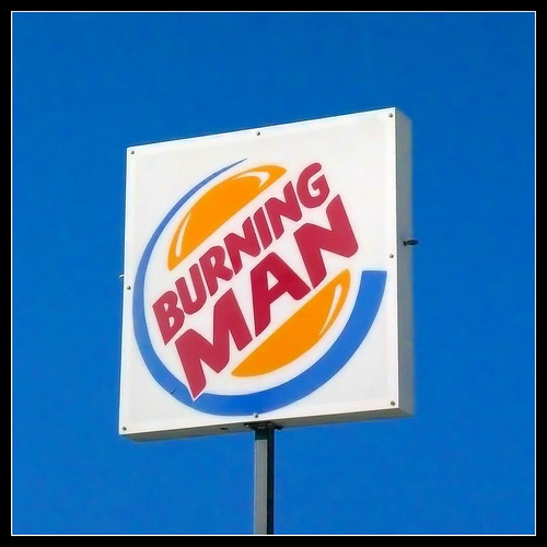 burning man burger king