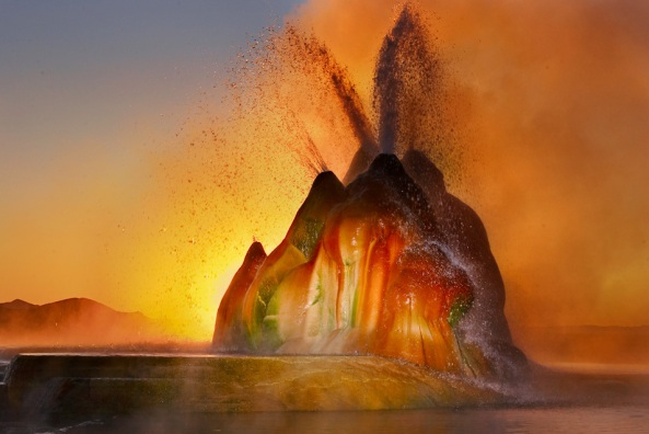 Fly Ranch Geyser, Washoe County