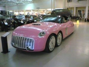 Thunderbirds art car
