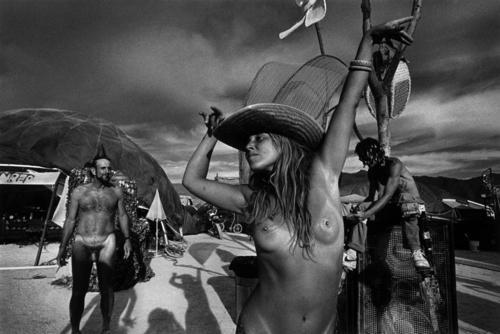 Burning Man Naked People We Likes Dykes On Bikes -6069