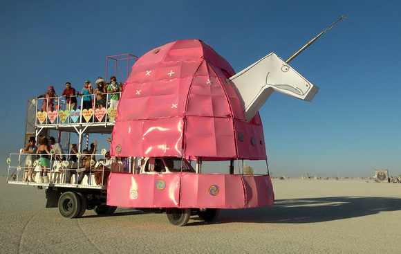 Charlie the Unicorn art car