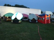Some Lady Bugs with their Mother Ship, Freeform Festival NJ 2012