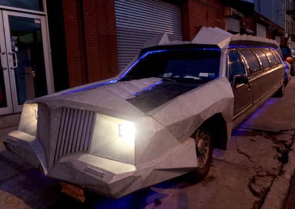 "Look out for this ""Bat Limo"" on the streets of Brooklyn"
