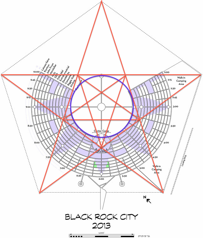 Magic On A Grand Scale BurnersMe Me Burners And The Man - Pentagram on us map