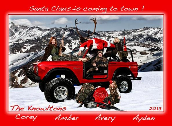 knowlton christmas card