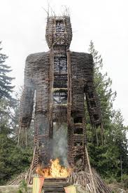 wicker man burn