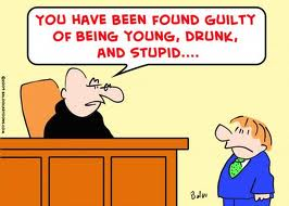 young drunk stupid judge