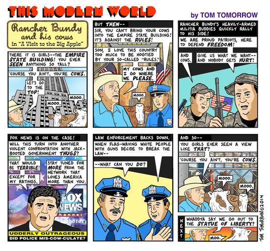 Cartoon from Daily Kos