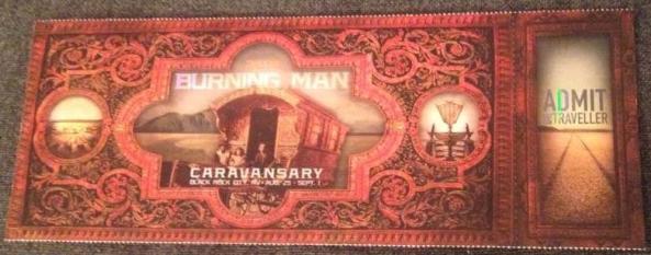 caravansary ticket