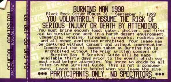 1998 ticket