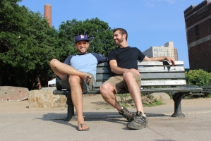 Andrew Belcher and James Puckett; photo credit: DNA Info/Serena Dai