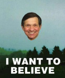 Kucinich once saw a UFO near Shirley MacLaine's house