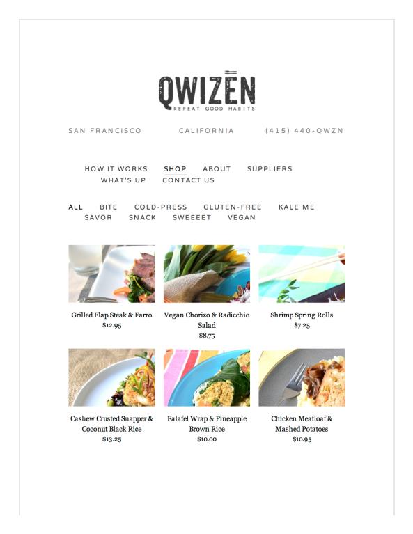 Shop — Qwizen