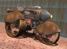 stuart swartz steam trike 1902