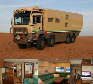 Why have an RV, when you can have a Mobile Fortress?