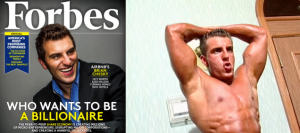 For $35, you can buy the CEO's body-building DVD photo: Gawker