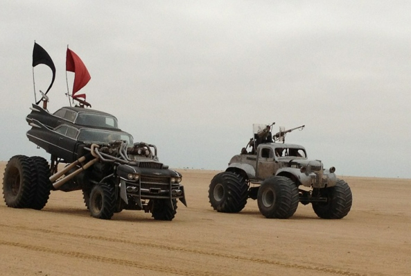 mad max fury road cars