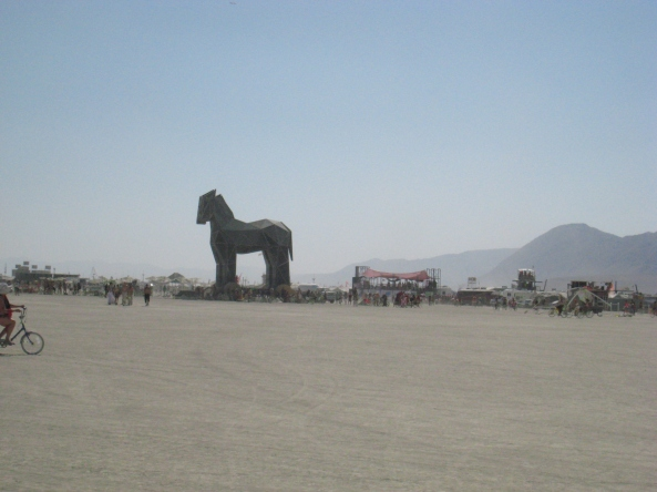 Trojan Horse, 2010. Image: Sharona Gott/Flickr (Creative Commons)