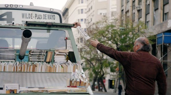 tank handing book on street