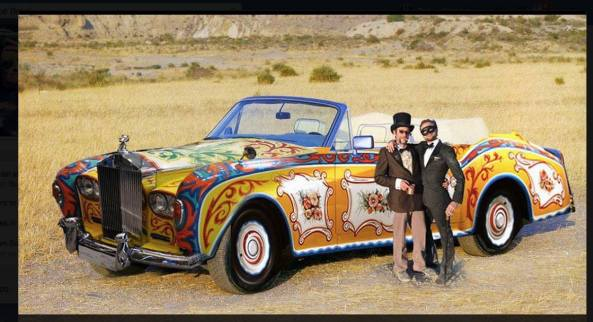 rolls royce art car source unknown
