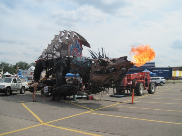 Gon Kirin Dragon Art Car Image: Becky Stern/Flickr (Creative Commons)