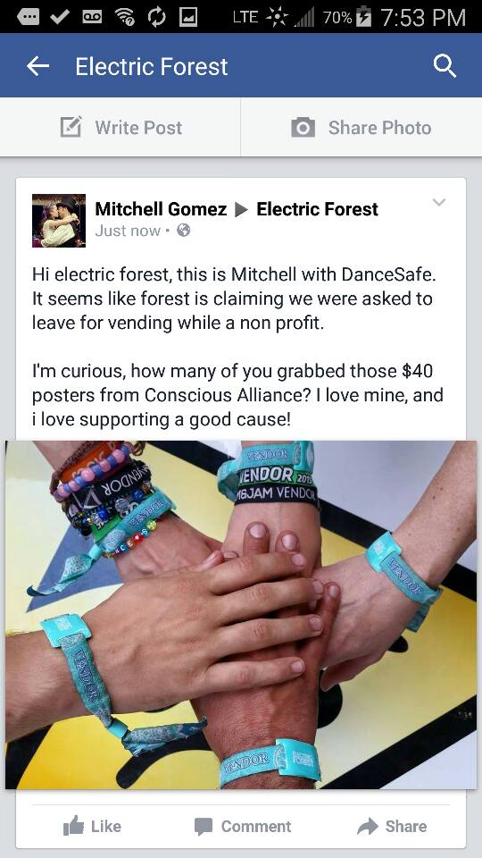 mitchell electric forest