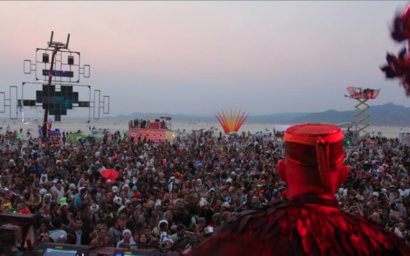 Damian Lazarus at Robot Heart. Image: VICE