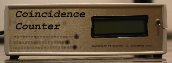coincidence-counter-front-panel