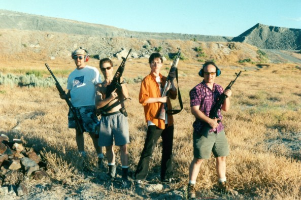 Stuart Mangrum, Paul Addis, Josh Babcock and Scott Beale in 1998