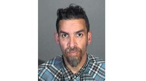 A 2015 mug shot of Derrick Ion Almena. Source: LA Times